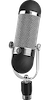 The head of a microphone.